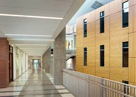 Rulon Suspended Wood Ceilings by Montgomery College U2013 Science Center Rulon International Inc