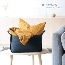 navaris filzkorb aufbewahrung korb aus filz set filzbox