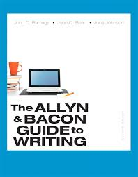 Ramage Bean Johnson Allyn Bacon Guide To Writing The