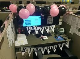fice Birthday Decorations Ideas For Desk Cubicle – Birthday