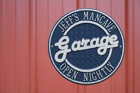 Personalized Garage Signs and Clocks from Dann Great Gift for the