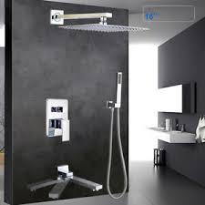 unterputz duschset duschsystem duschhahn set badezimmer 10