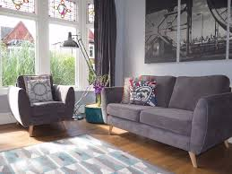 Grey DFS 'Aurora' 2 Seater Sofa & Matching Armchair | In New ... Hcom 2 Seater Kids Twin Sofa Childrens Double Seat Chair 3 And Armchair Memsahebnet Ikea Stocksund Series 2014 Review New At F501051252 Victorian Style Cigar Conker Brown Leather Suite Ikea Ekens Armchair Excellent Cdition In And Hugo 31 Set Ungelovers Second Charm Fniture Vintage Midcentury Sofas And Armchairs