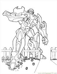 Printable Coloring Page Transformers 4