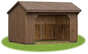 Livestock Loafing Shed Plans by Animal Shelters Pine Creek Structures