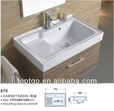Blanco Laundry Sink With Washboard by Sanitary Ware Ceramic Bathroom Basin With Washboard 675 Buy