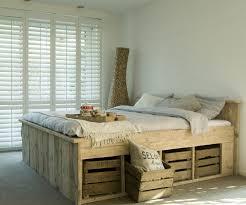 Pallet Bed Frame by Bed Frames Pallet Platform Bed Instructions How To Make A Pallet