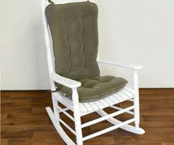 Image Of Jumbo Glider Rocking Chair Cushions