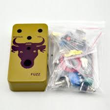 2017 build your fuzz face pedal diy box kit diy fuzz pedal green