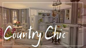 Cozy Country Chic Kitchen 87 Shabby Decor The Sims Room Build Full