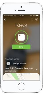 Sharing Keys Tile Key Finder App