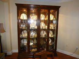 Henredon Breakfront China Cabinet by China Cabinet Collection On Ebay