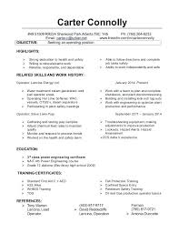 Resume Summary Examples Machine Operator Packed With Creative Objective In Chemical