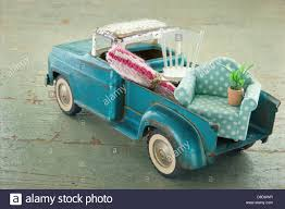 100 Toy Moving Truck Old Vintage Toy Truck Packed With Furniture Moving Houses Concept