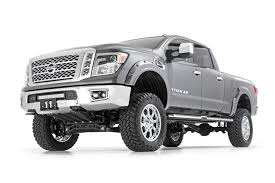 Rough Country Pocket Fender Flares For 2016-2018 Nissan Titan 2WD ... 15 16 17 Colorado Canyon Wheel Well Flare Stainless Fender Trim Fits 8995 Pickup Bushwacker 3102011 Cout Fender Flares 21996 Bronco 4 Aftermarket Fenders Phoenix Usa Stainless Steel Quarter Kit 21in 2pc Set Dodge Ram Truck Bars Hash Mark Racing Sport Stripes Decals Toyota Tacoma Tundra Semi Northern Tool Equipment 93 Ford Ranger 10 Off Road Fiberglass With Door Exteions Universal Rear Single Axle Half Circle Egr Rugged Making A New 1938 Chevrolet Truck Fender From Scratch