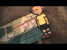 caillou goes fast at the bathroom gets ungrounded youtube