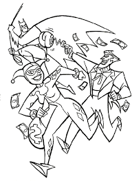 Online Batman And Joker Coloring Pages 22 With Additional Seasonal Colouring
