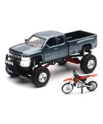 New-Ray Toys 1:32 Scale Chevy Silverado 4x4 Truck & Honda Dirt Bike ... Cheap Honda Cars Trucks Find Deals On Line At Hondas Toys And Inc Best Image Truck Kusaboshicom Little Ducks Dump For Children Bus Matchbox Motorcycle In Trailer Vintage Diecast Steel Toys Car Collector Hot Wheels Diecast And Team Race Replica Newray Skidoooutlet Learn Colors With Max Bill Pete The Toys Big Monster 2018 70th Anniversary Complete Se Toy Vehicles Tomica Tcn Games Others Carousell