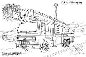 Camion De Pompier 26 Transport Coloriages À Imprimer Dedans