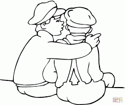 Free Friendship Day Coloring Pages Friends Lego