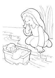 Full Image For Bible Coloring Pages Moses Ten Commandments