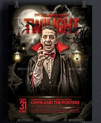 Free Halloween Flyer Templates by 50 Creepy Design Resources For Halloween