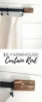 5 Farmhouse Curtain Rod
