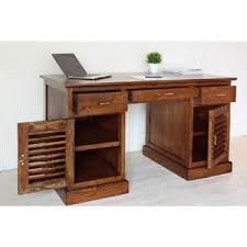 bureau teck massif bureau teck achat vente pas cher