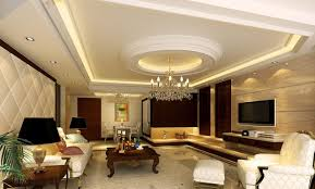 High Ceiling Living Room Design With Luxurious Style