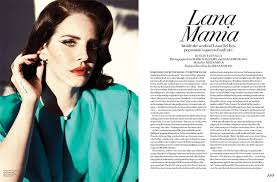 Lana Del Rey Turns Up The Glam For Fashion Magazines Summer 2013 Cover Shoot