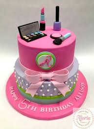 Birthday Cakes Spa Themed Best Cake Ideas On Kids Party Makeup