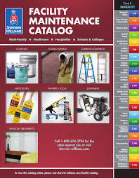 Sherwin Williams Epoxy Floor Coating Colors by Sherwin Williams Facility Maintenance Catalog By Sherwin
