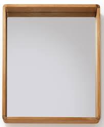 obi spiegel 80x65 mit teakholzrahmen geeignet für privat