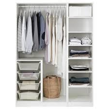 pax kleiderschrank weiß bergsbo weiß 150x60x201 cm