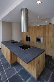 cuisine bois plan de travail noir beau cuisine chene clair plan travail noir et les meilleures idaes
