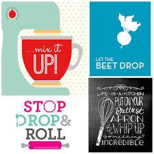 Roundup 22 Free Kitchen Wall Art Printables