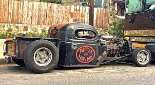 100 Rat Rod Truck Pappys Pickup On S Congress Ave ATX Car Pictures Real
