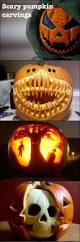 Best Pumpkin Carving Ideas 2015 by Best 25 Scary Pumpkin Carving Ideas On Pinterest Pumpkin