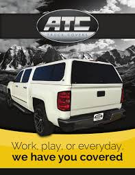 ATC Truck Covers Brochure By ATC Truck Covers - Issuu Vortrak Retractable Truck Bed Cover Heavy Duty Hard Tonneau Covers Diamondback Hd Undcover Flex Highway Products Inc Bak Flip Mx4 From Logic Accsories Best Buy In 2017 Youtube Commercial Alinum Caps Are Caps Truck Toppers Tonnopro Accories Vicrezcom Sportwrap Lid Soft Trifold For 42017 Toyota Tundra Rough Country Fletchers Missouri