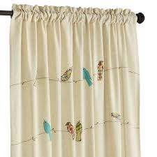 Pier 1 Imports Curtain Rods by Applique Birds On A Wire Curtain Pier 1 Imports
