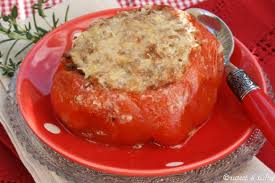 cuisiner coeur de porc recette tomate coeur de boeuf farcie aux deux viandes 750g