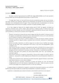 Carta Al Ministro De Educación Stecyli