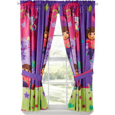 Dora The Explorer Fiesta Kitchen Set by Dora The Explorer Drapes Set Of 2 Walmart Com