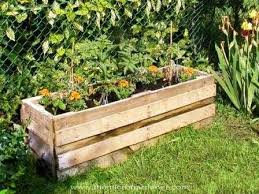 Upcycled Pallet Vegetable Planter
