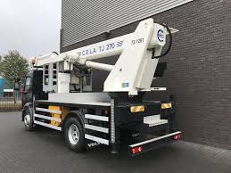 VOLVO FL 240 + C.E.L.A. TJ 270 HOOGWERKER Bucket Trucks For Sale ...