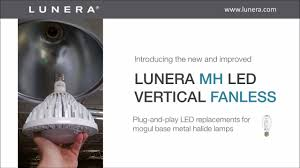 Lunera Helen Lamp G2 by Lunera Mh Led Vertical Fanless Intro Youtube