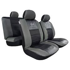 100 Pickup Truck Seat Covers Black GT Racing Embroidered Leather Mesh For Toyota SUV