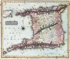 1823 Map Of Trinidad