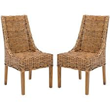 Safavieh Suncoast Brown Rattan & Mango Wood Side Chair (Set Of 2 ... Modern Fniture Room Board Hot Item Luxury Solid Wood Legs Handnailed Faux Leather Ding Chair Discover Carl Hansen Sn At The Conran Shop Scpupholstery Fniture Lighting Gifts Accsories And Textiles Kalamazoo Sets Dinner Designer Singapore Living Office Bedroom Hooker Pair Of Chiara Mustard Allmodern Contemporary Chairs Beautifully Made In Italy Heals Us 331 10 Offmodern Minimalist Decoration Stretch Cover Kitchen Prting Removable Anti Dirty Seat Casein