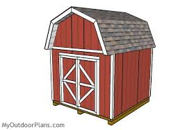 10x10 Barn Shed Plans MyOutdoorPlans